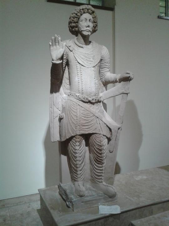 Cavaliere, Tempio IV, (Iraq Museum)
