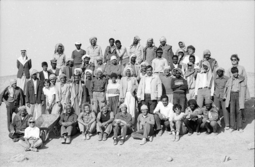 Missione Archeologica a Hatra 1987